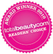 Total Beauty Readers Choice 2010 logo