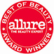 Allure Best of beauty 2011 logo