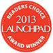 Launchpad Readers choice award 2013 logo