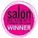 Salon magazine Readers choice award winner logo